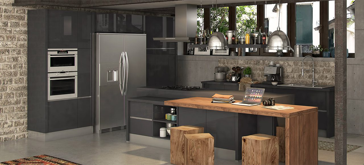 cuisines quip es et sur mesure tous les mod les ixina aix en provence. Black Bedroom Furniture Sets. Home Design Ideas