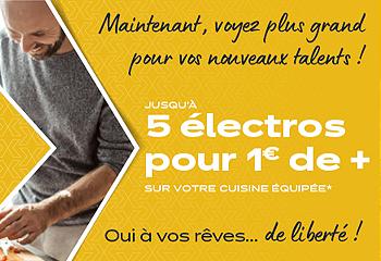 5 électro offerts !